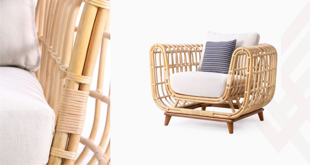 Chair Indonesia Natural Rattan | Sienna Rattan Wicker Furniture Manufacture