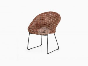 Twist Rattan Chair Perspektif
