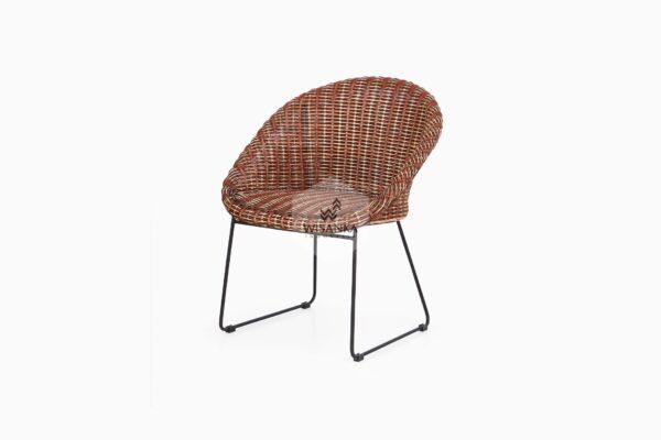 Twist Rattan Chair Perspektif