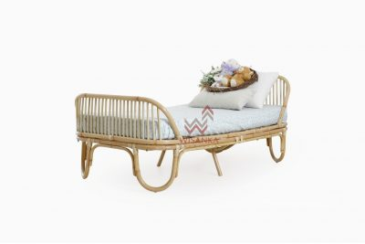 Farel-Toddler-Bed | Farel-Natural-Rattan-Toddler-Bed | Natural Rattan Todler Bed | Todler Bed | Rattan Todler Bed