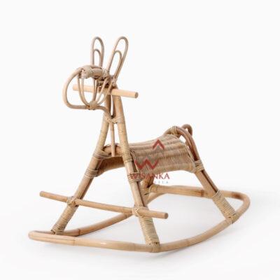 Kidang Rocking Perspektif | Kidang Rocking | Kidang Rattan Rocking | Kidang Natural Rattan Rocking | Kidang Kid's Furniture | Kid's Furniture