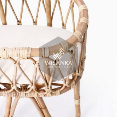 Masha-Doll-Bassinet-with-Cushion-detail | Cirebon Natural Rattan Bassinet Kid's Furniture