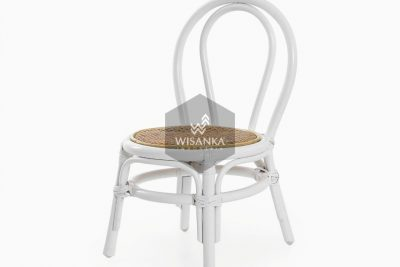 Kala White Natural Rattan Chair | Kala Kid's Rattan Chair | Kala Kid's furniture chair