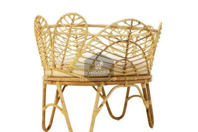 Nada Rattan Baby Crib | Nada Natural Rattan Baby Crib | Nada Baby Crib | Cirebon Rattan Baby Crib