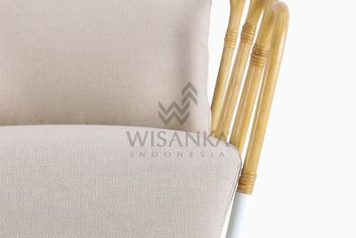 Cisco Occassional Wooden Chair detail