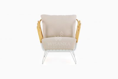 Cisco Occassional Wooden Chair front
