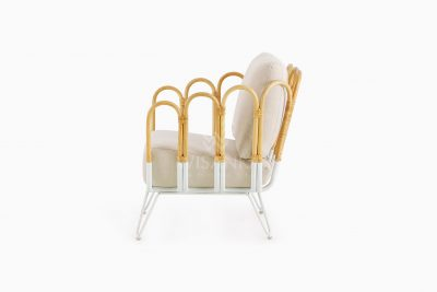 Cisco Occassional Wooden Chair side