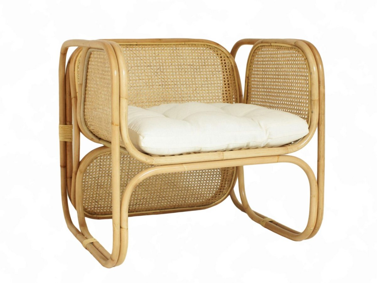 Fanie Wicker Rattan Arm Chair 1200x900
