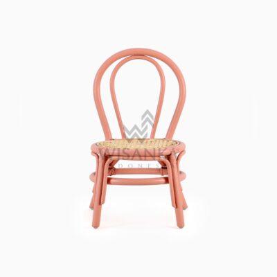 Kala Kid's Natural Rattan Chair front