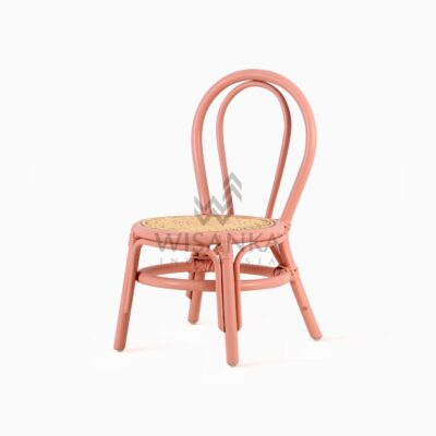 Kala Kid's Natural Rattan Chair perspective