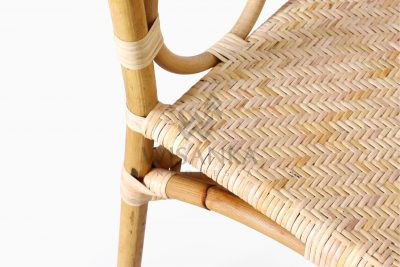 Maura Occasional Rattan Wicker Chair Detail 2