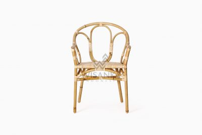 Maura Occasional Rattan Wicker Chair front