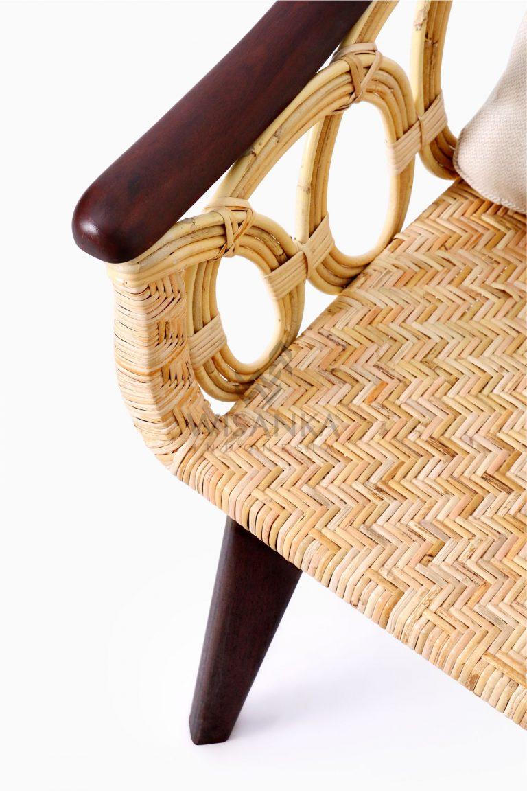Maureen Occasional Natural Rattan Wicker Chair | Cirebon ...