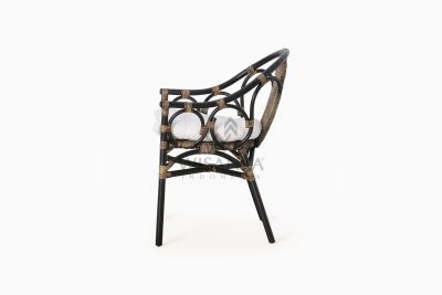 Naira Occasional Rattan Wicker Chair side