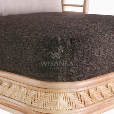 Tyne Rattan Wicker Sofa 1 Seater Detail 2
