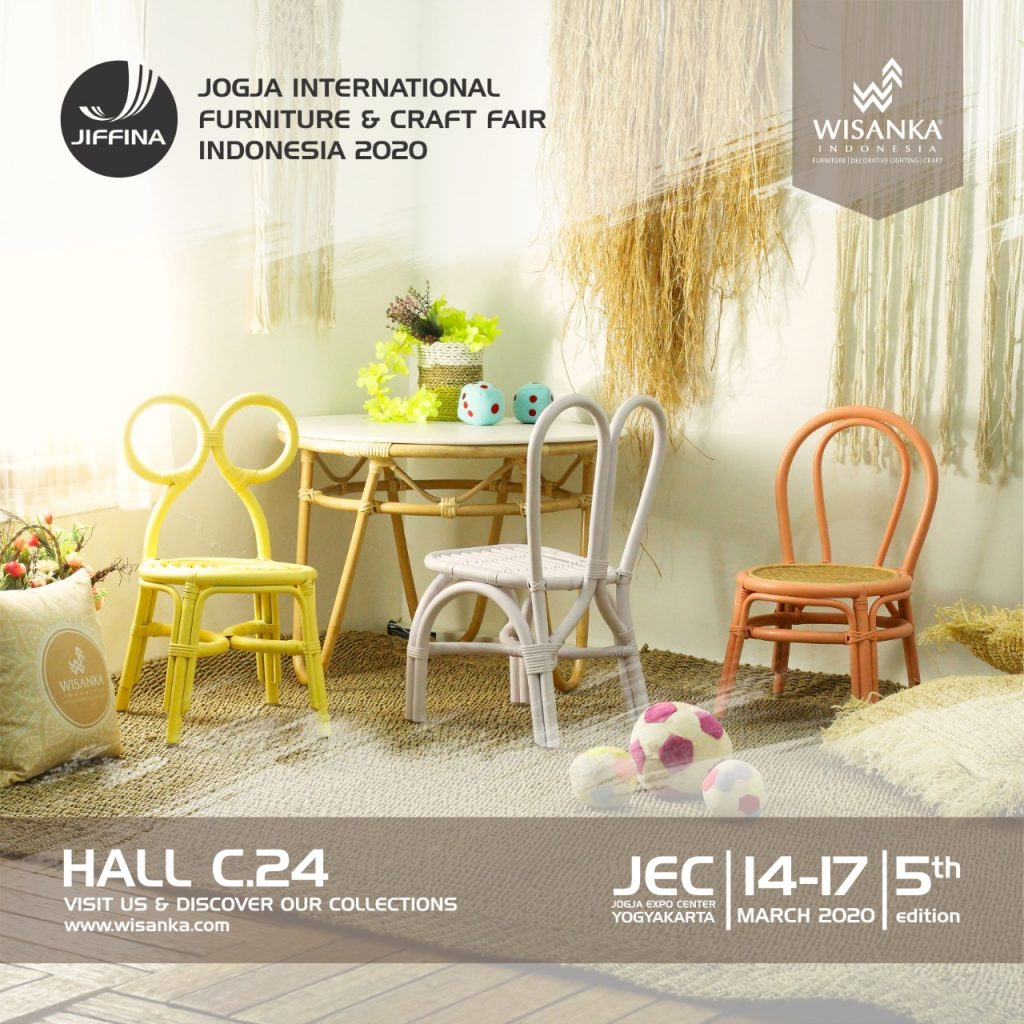 JIFFINA 2020 International Craft and Furniture Fair 5th in Jogja