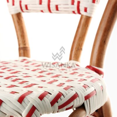 Aren Bistro Chair Aren Wicker Dining Chair Detail 2