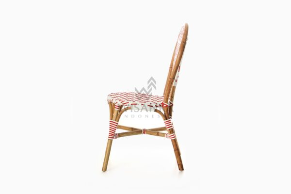 Aren Bistro Chair Aren Wicker Dining Chair side