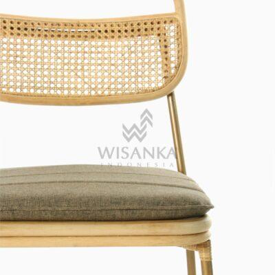 Akina Side Chair - Dining Natural Rattan Furniture detail 2