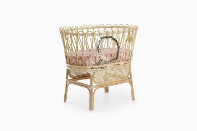 Chiko Natural Wicker Rattan Baby Bassinet