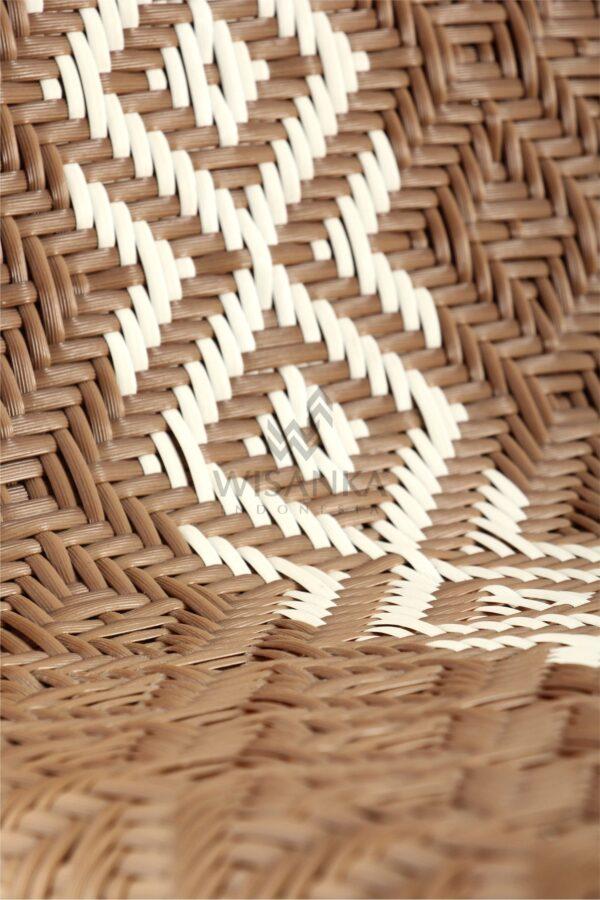 Neysa Wicker Rattan Chair Detail 2