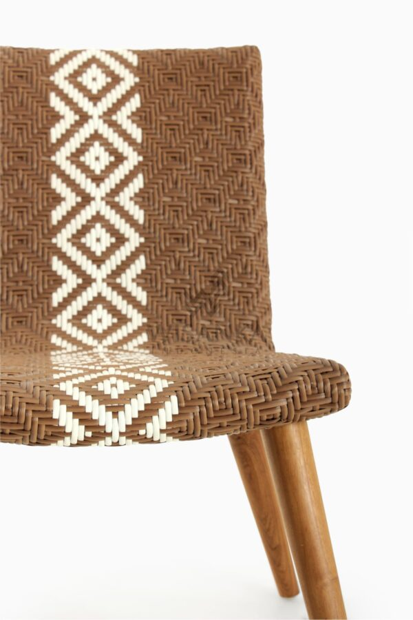 Neysa Wicker Rattan Chair detail 1