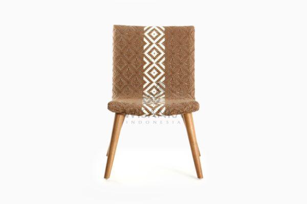 Neysa Wicker Rattan Chair front