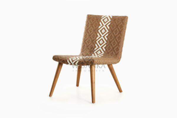 Neysa Wicker Rattan Chair perspective