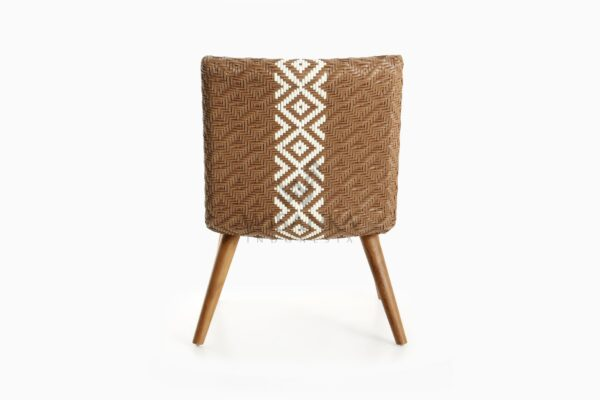 Neysa Wicker Rattan Chair rear