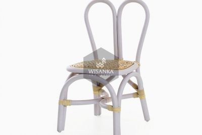 Kawa Natural Rattan Kids Chair