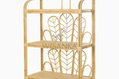 Barbosa Etagere Rattan Decor For Nursery Room perspective