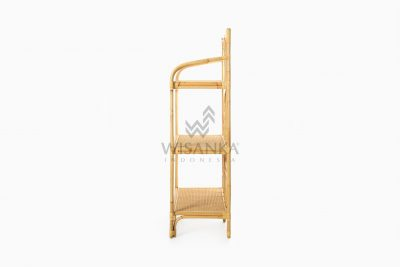 Barbosa Etagere Rattan Decor For Nursery Room side