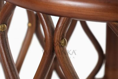 Cote Natural Rattan Side Table Detail 2