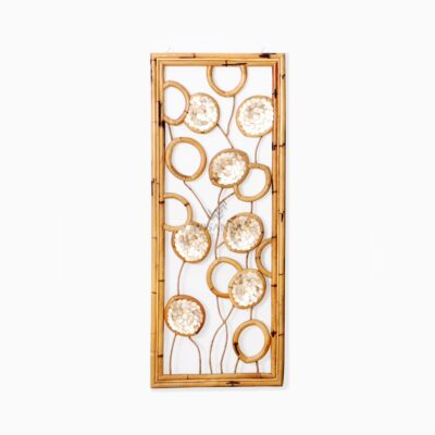 Belle Capiz Wall Decoration - Natural Rattan Furniture