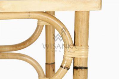 Doremi Natural Rattan Working Desk Table Detail 1