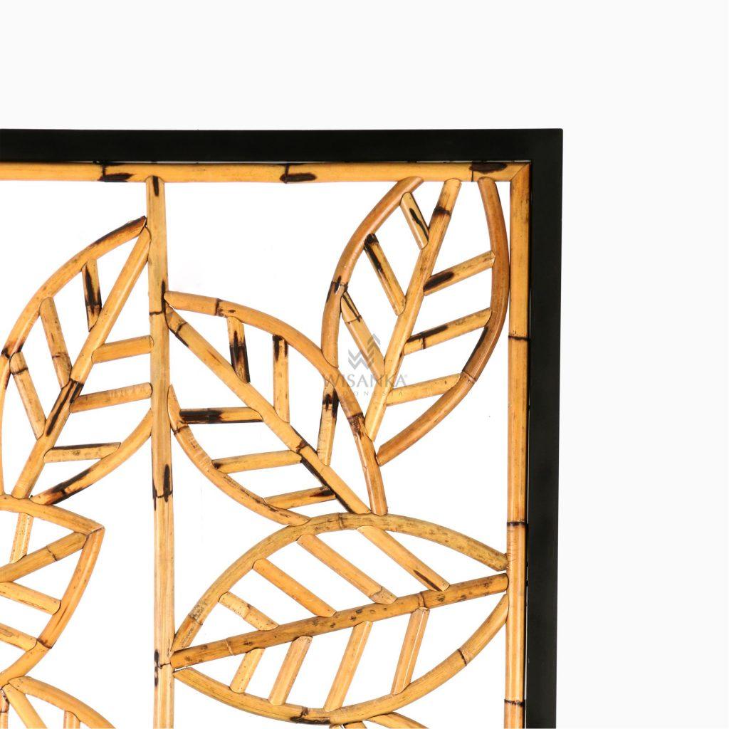 Leaf Divider-Natural Rattan Furniture Detail