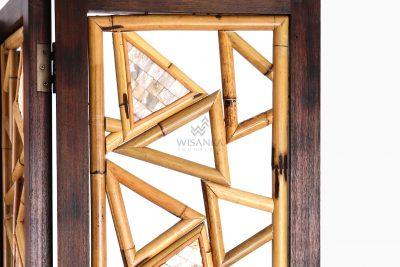 Triangle Divider - Natural Rattan Furnituredetail
