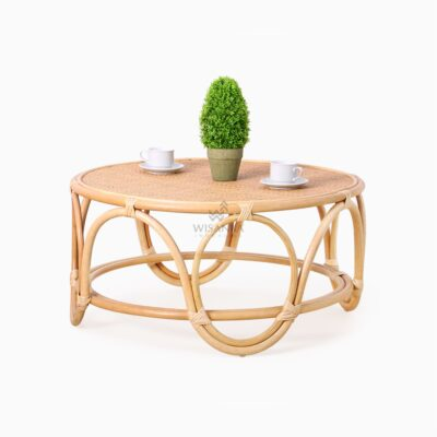 Dubbo Coffee Table - Natural Rattan Furniture