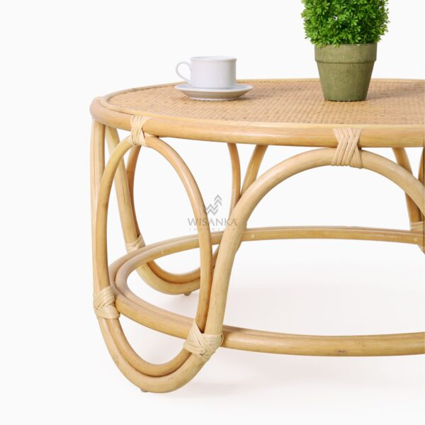 Dubbo Coffee Table - Natural Rattan Furniture detail 1