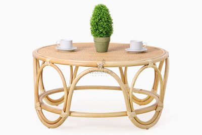 Dubbo Coffee Table - Natural Rattan Furniture front