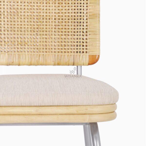 Kaira Dining Chair - Natural Rattan Furniture detail 1
