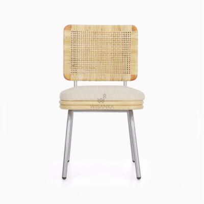 Kaira Dining Chair - Natural Rattan Furniture front