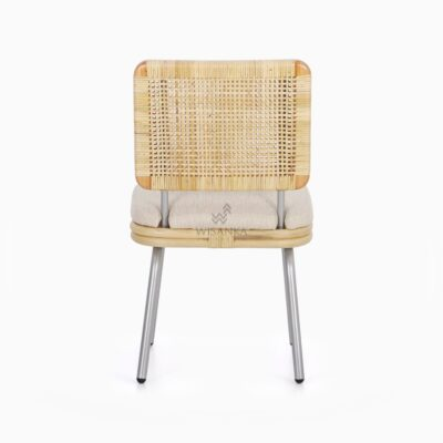 Kaira Dining Chair - Natural Rattan Furniture rear
