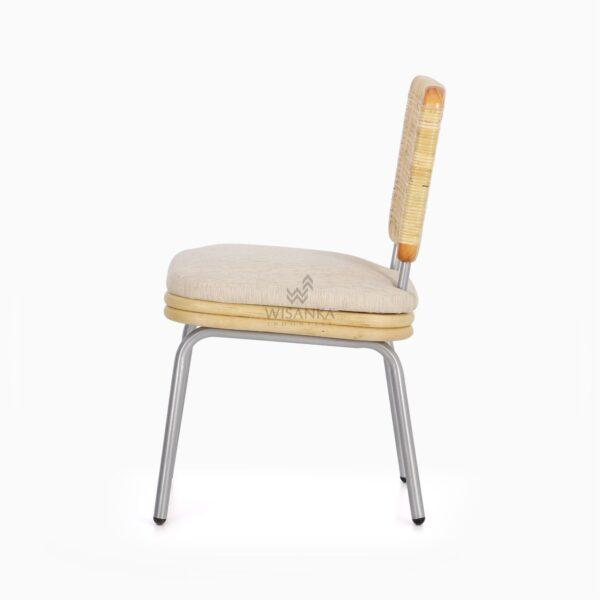 Kaira Dining Chair - Natural Rattan Furniture side