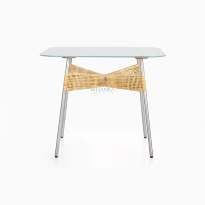 Kaira Dining Table - Natural Rattan Furniture front