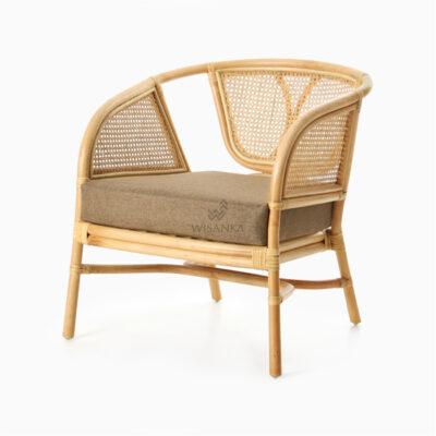 Lerida Arm Chair - Natural Rattan Furniture