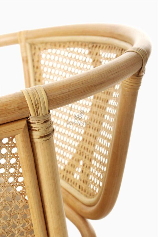 Lerida Arm Chair - Natural Rattan Furniture detail