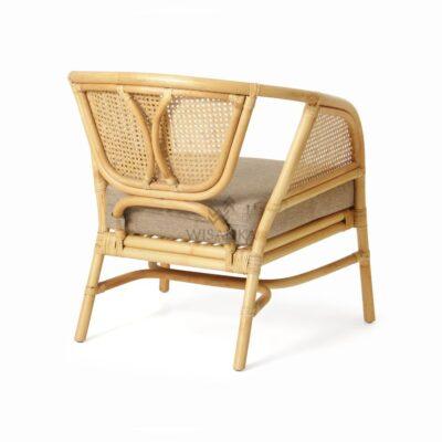 Lerida Arm Chair - Natural Rattan Furniture rear