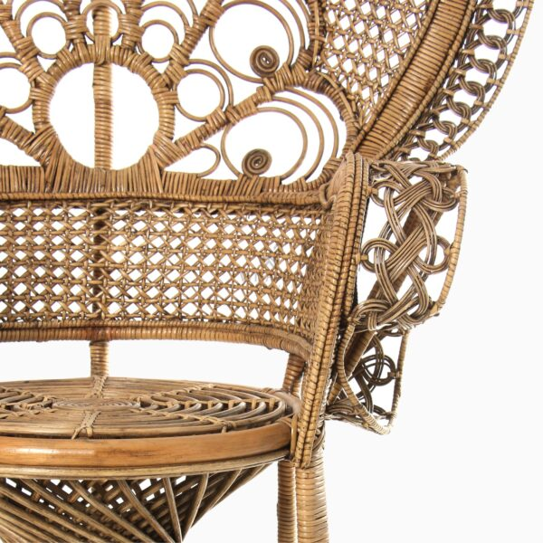 Saleema Peacock Chair - Natural Rattan Furniture detail 1