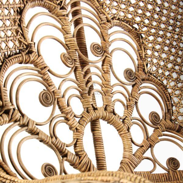 Saleema Peacock Chair - Natural Rattan Furniture detail 2